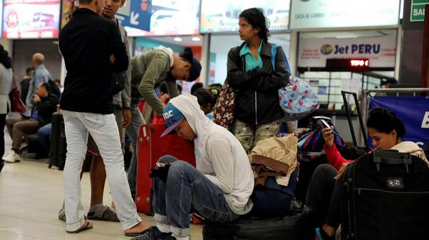 Venezuelan exodus approaching crisis moment - U.N.  agency