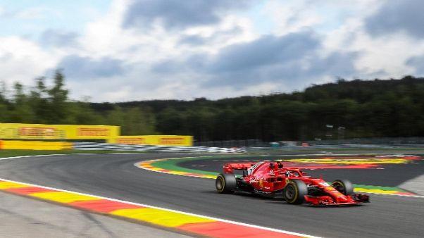 F1: Belgio, Raikkonen vola in libere 2