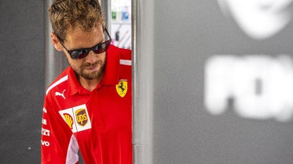 F1: Vettel,macchina non è come la vorrei