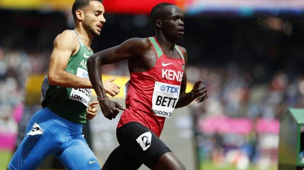 Athletics - Bett latest Kenyan athlete to test positive for EPO