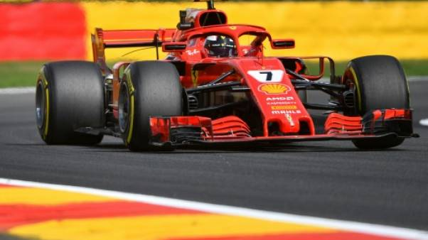 Kimi Räikkönen domine les essais libres du GP de Belgique le 24 août 2018
