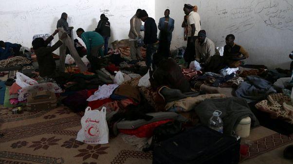 المفوضية السامية: أوضاع المهاجرين المحتجزين في ليبيا تتدهور بشكل حرج