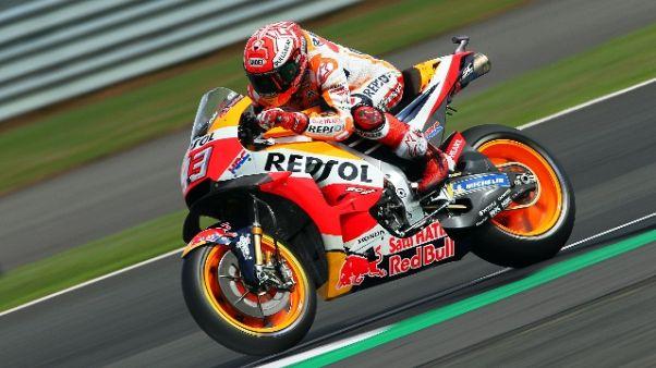 Moto: Gb, Marquez vuole prime file,
