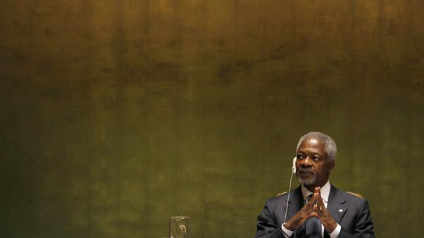Former U.N. chief Kofi Annan to be buried in Ghana on September 13 - president
