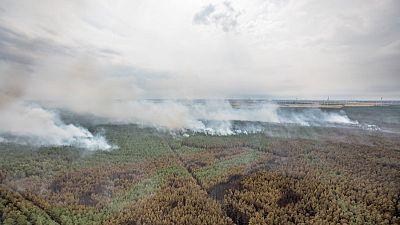 إجلاء المئات من برلين بسبب الدخان الكثيف الناجم عن حرائق الغابات