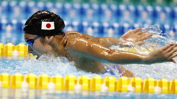Japan swim queen Ikee makes light of Tokyo burden