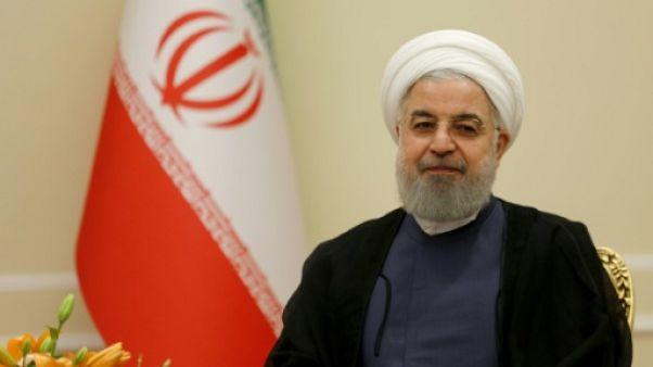 Le président iranien Hassan Rohani à Téhéran, le 8 août 2018