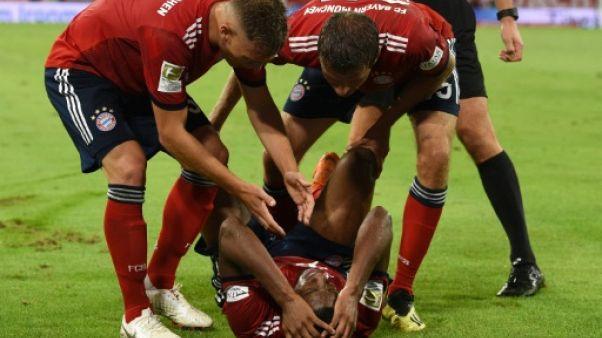 Bayern: le Français Kingsley Coman fauché en plein élan par une nouvelle blessure