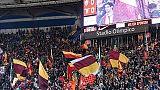 Roma, 1/a trasferta Champions con tifosi