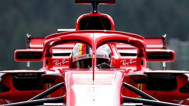 فيتل يكمل سيطرة فيراري على التجارب الحرة لسباق بلجيكا