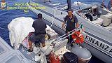 Su scafo da Albania 500 kg droga,arresti