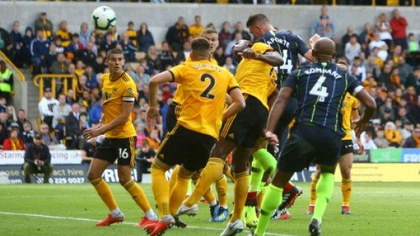 Angleterre: Manchester City freiné par Wolverhampton 1-1