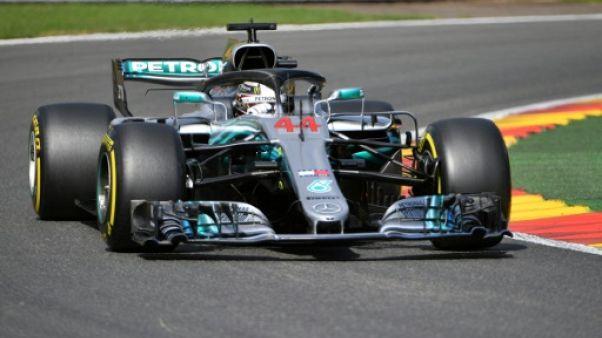 GP de Belgique: Hamilton profite encore de la pluie