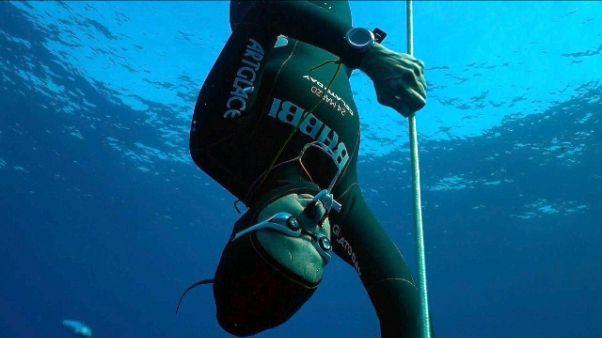 Apnea: 115 mt, record mondo Carraturo