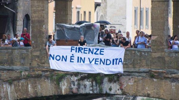 Firenze non si vende, protesta in centro