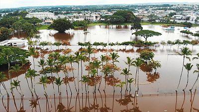 More floods threaten Hawaii as tropical Storm Lane drifts away