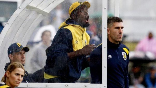 Australia, 'prima' Bolt, ma in panchina