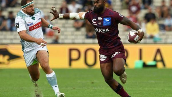 Top 14: Bordeaux fait craquer Pau sur la fin