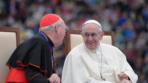 Le pape François à Dublin le 25 aout 2018