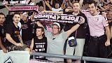 Tifosi Palermo si scontrano a Salerno