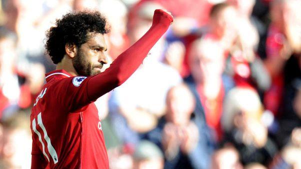 هدف صلاح يكفي ليفربول للانتصار وانتزاع القمة