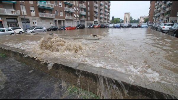 Esondato il Seveso a Milano