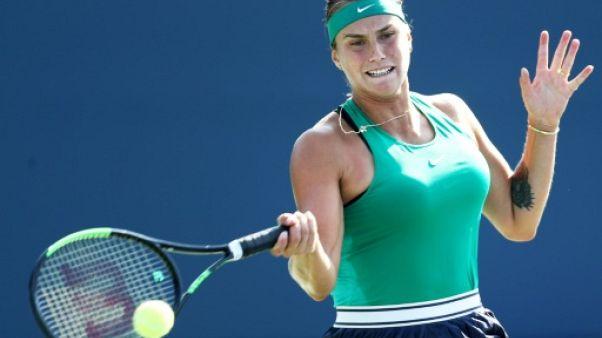 Tennis: premier titre pour Sabalenka à New Haven
