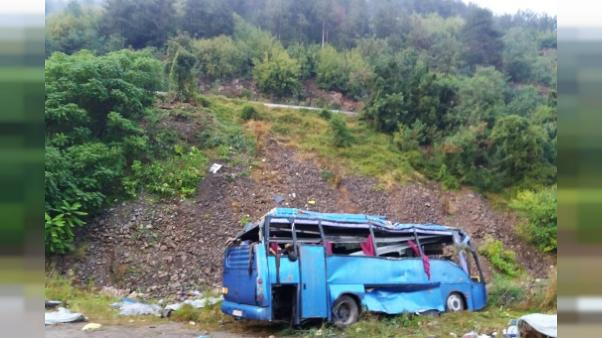 Bulgarie: 16 morts dans un accident d'autocar en Bulgarie