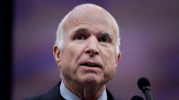 بيان: وفاة السناتور الجمهوري الأمريكي جون مكين عن 81 عاما