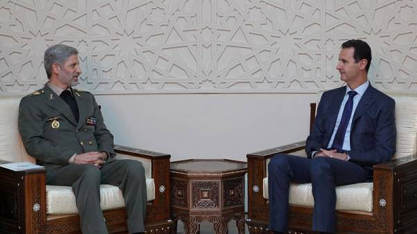 Iran's defence minister meets Assad, Syrian counterpart in Damascus