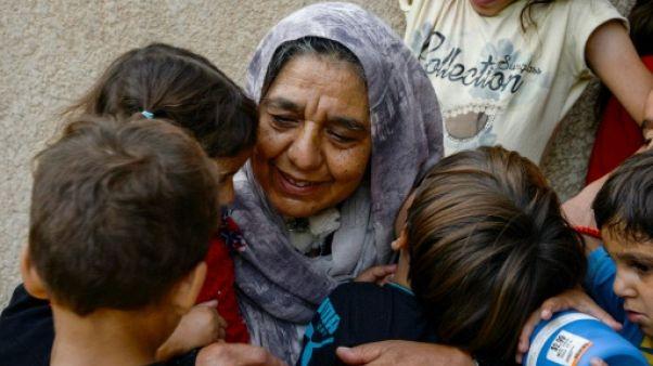 A Mossoul, la lutte quotidienne de Sana, grand-mère de 22 orphelins
