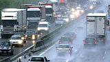 Pioggia e code in A14 Marche verso sud