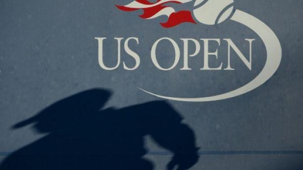 Logo de l'US Open, à New York, le 3 septembre 2016