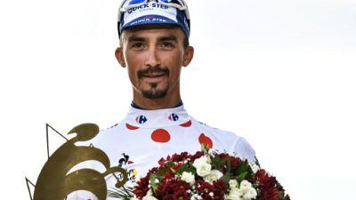 Julian Alaphilippe meilleur grimpeur du Tour de France le 29 juillet 2018