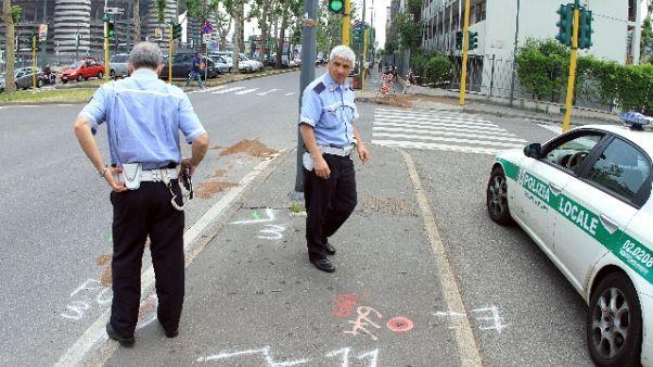 Pedone ucciso a Milano, una denuncia