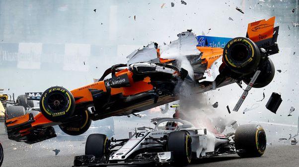 Spectacular Alonso crash proves worth of halo