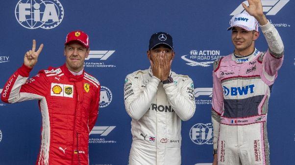 Hamilton, la Ferrari aveva qualche magia