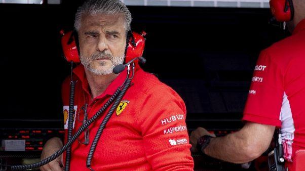F1: Arrivabene, Vettel martello