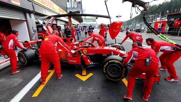 Vettel wins in Belgium to rein in Hamilton