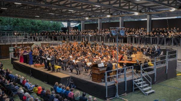 A Dobbiaco Sinfonia dei Mille di Mahler
