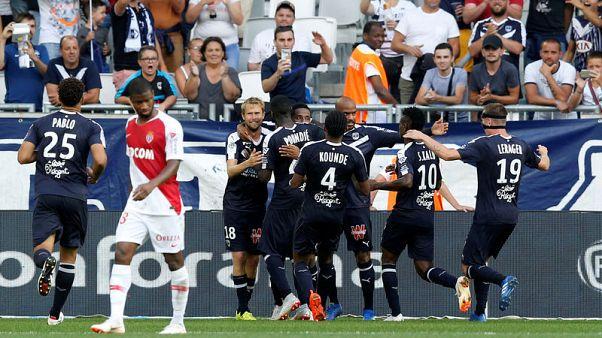 بوردو يهدر ركلة جزاء لكنه ينتزع فوزا مثيرا على موناكو