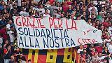 """Tifo Genoa parte al 43', """"Genova Genova"""""""