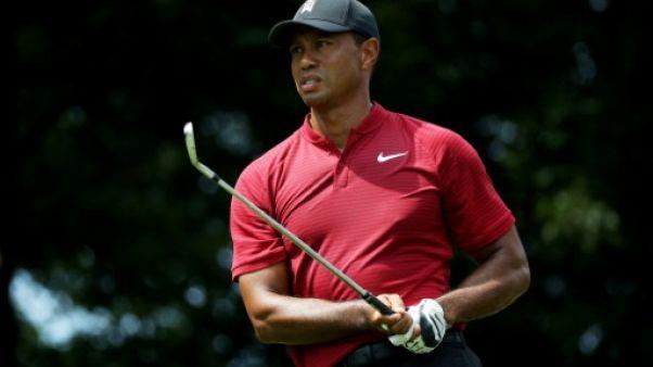"""Polémique Trump/NBA/NFL: Tiger Woods préconise de respecter la fonction"""""""