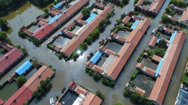 صحيفة: فيضانات بشرق الصين تسبب خسائر تجاوزت مليار دولار هذا الشهر