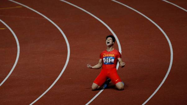 Sub-10 Su savours Asiad gold, not fussy about time