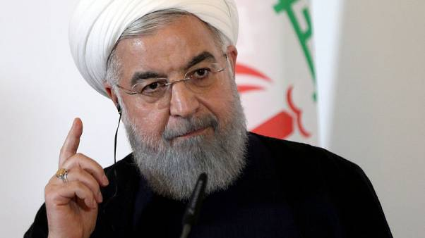 Iran president asks Europe for guarantees on banking channels and oil sales