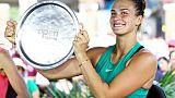 Classement WTA: Sabalenka entre dans le top 20