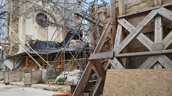 Verso rimozione macerie basilica Norcia