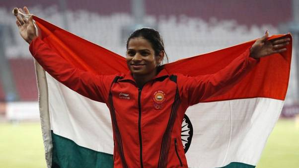 Games - Jakarta silver erases nightmares for tormented Indian sprinter Chand