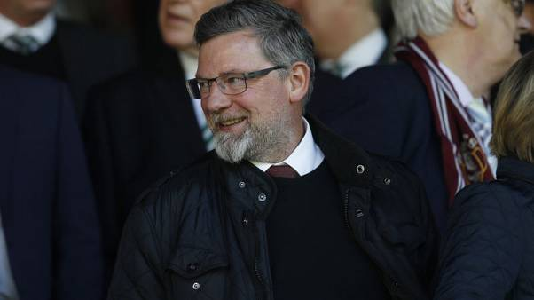 Hearts manager Levein taken to hospital